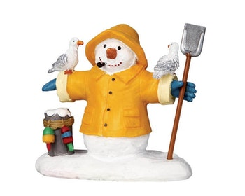 Fisherman Snowman