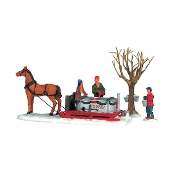 Maple Syrup Sled, Set Of 3