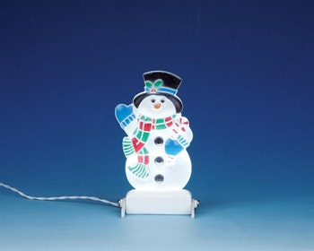 Yard Light - Snowman