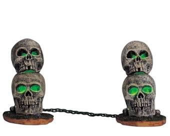 Lighted Skull