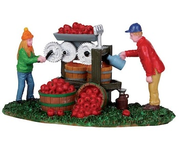 Cider Pressing Dad