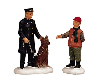 Policeman And Friend