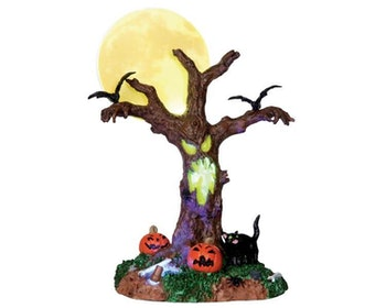 Scary Moonlit Tree