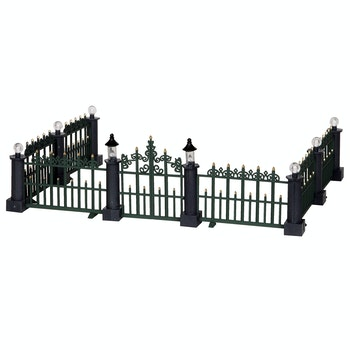 Classic Victorian Fence, Set Of 7