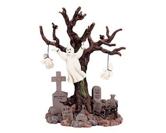 Lighted Tree Graveyard Ghost