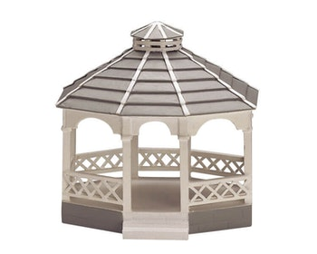 Wooden Gazebo - Oval