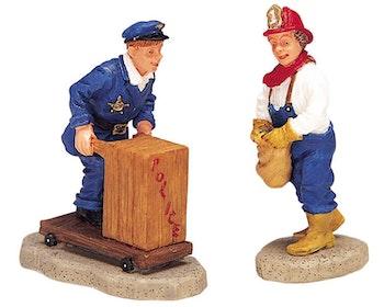 Fireman & Policeman