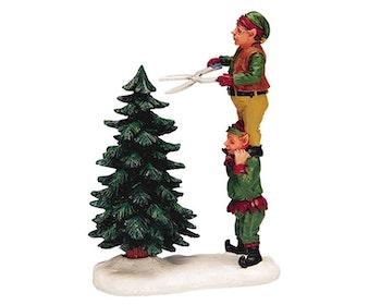 Elf Tree Trimming
