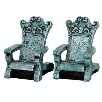 Tombstone Chairs, Set Of 2