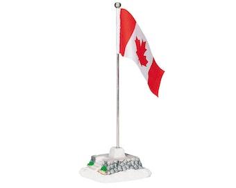 Canadian Flag Pole