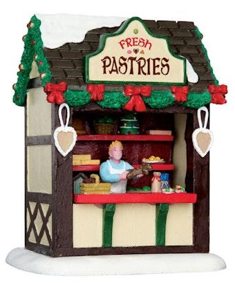 Fresh Pastries Market Stall
