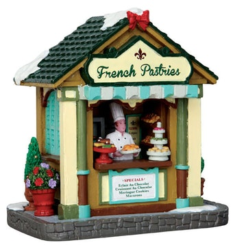 French Pastries Stand