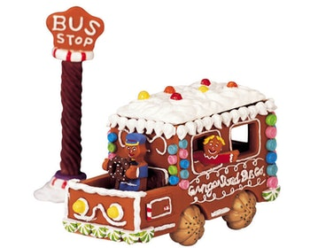 Gingerbread Bus