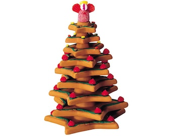 Baked Cookie Christmas Tree