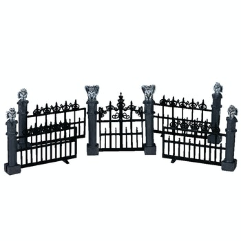 Gargoyle Fence, Set Of 5