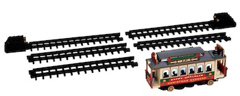 Christmas Cable Car  Set Of 6