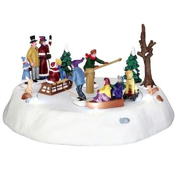 Victorian Ice Merry Go Round