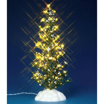 lighted pine tree large - Porcelain Christmas Tree With Lights