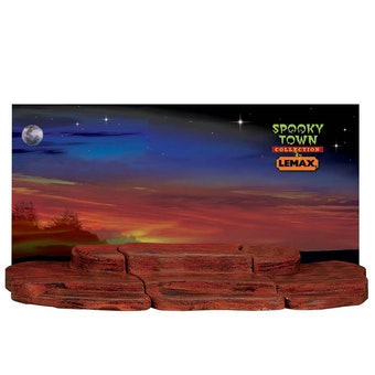 3-Foot Display Material - Spooky Town