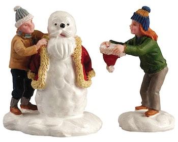 Our Santa Snowman