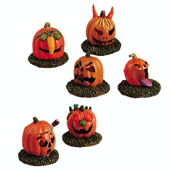 Pumpkin People, Set Of 6