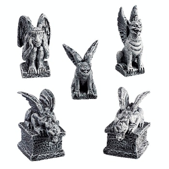 Gargoyles, Set Of 5