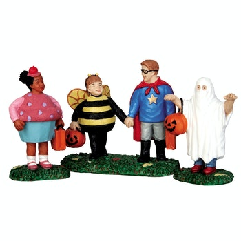 New Trick Or Treaters, Set Of 3