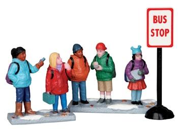 Bus Stop, Set Of 3