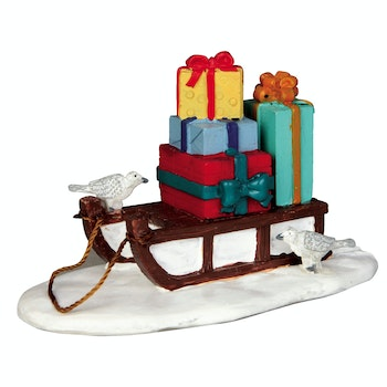 Sled With Presents
