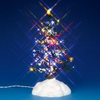 Lighted Pine Tree, Multi, Medium