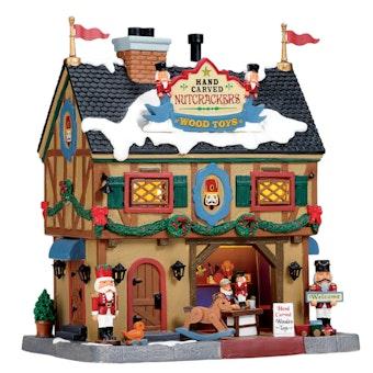 Nutcracker & Wood Toy Carve