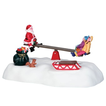 Santa Seesaws