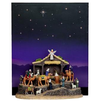 Village Bethlehem With Background