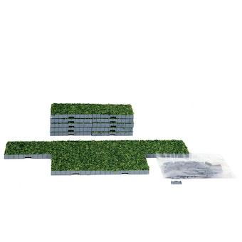 Plaza System (Grass, Square) - 16 pcs