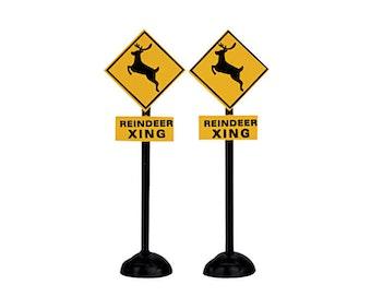 Reindeer Crossing Signs