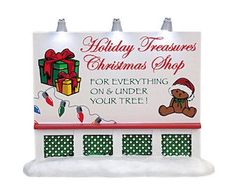 Holiday Treasures Billboard