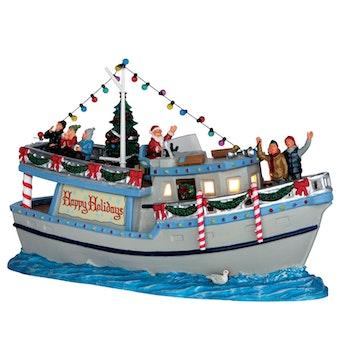 """The """"Yule Tide"""" Yacht"""