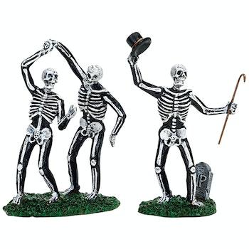 Dancing Skeletons, Set Of 2