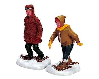 Rugged Snowshoers