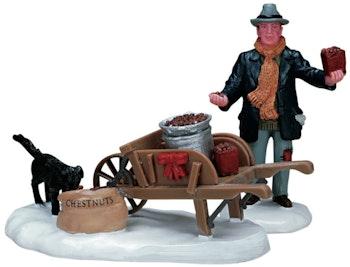 Roasted Chestnut Vendor, Set Of 2