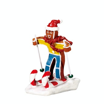 Candy Cane Skier