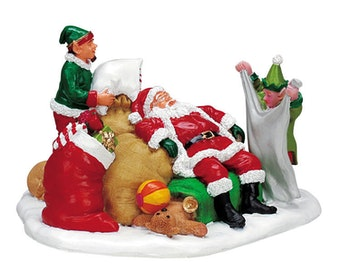 Tuckered Out Santa