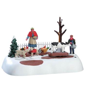 Winter Farm Chores