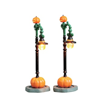 Witch Pumpkin Patch, Set Of 2