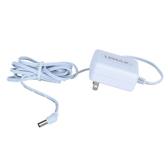 4.5V 1-Output Adapter White Fixed US Plug