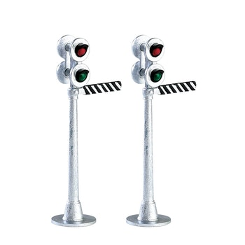 Railway Signal Light, Set Of 2