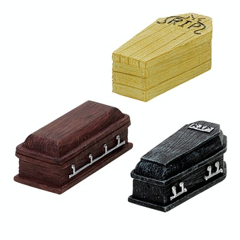 Coffins, Set Of 3