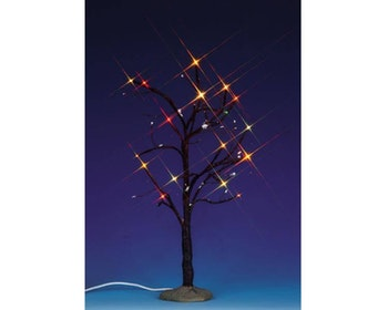 Lighted Elm Tree