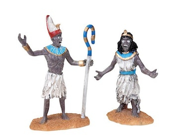 Pharaoh And Queen