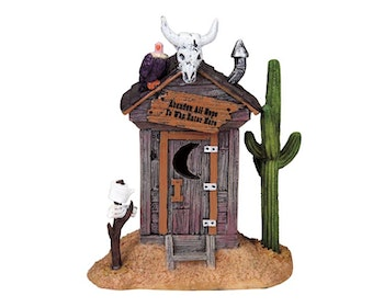 Haunted Outhouse